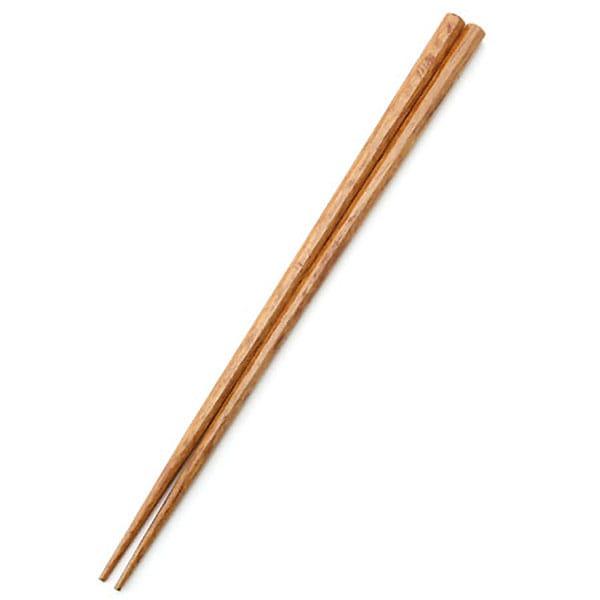 木製塗箸 八角 23cm