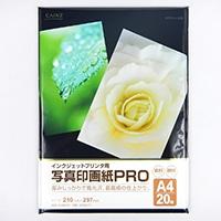 写真印画紙Pro A4 20枚