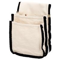 帆布腰袋 ホワイト HKB−W