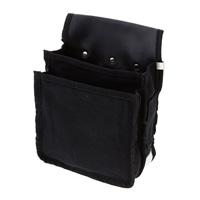 帆布腰袋 ブラック HKB−B