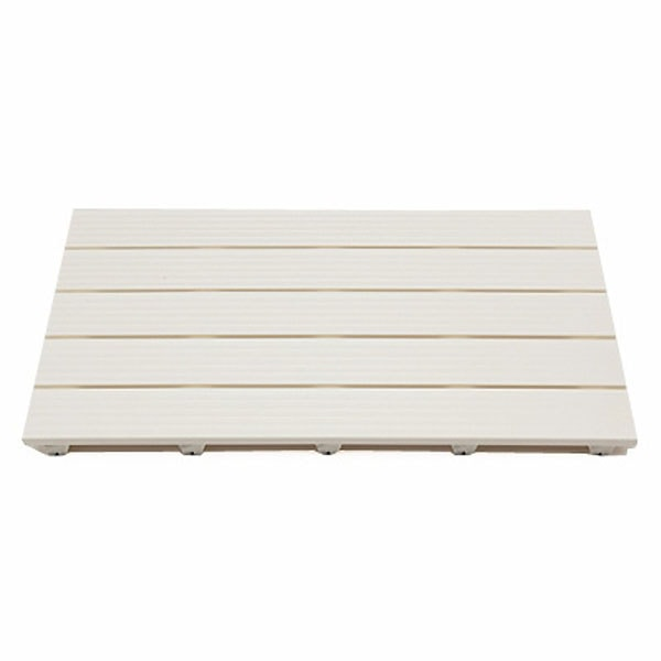 風呂スノコ(脚付) アイボリー 50×80cm