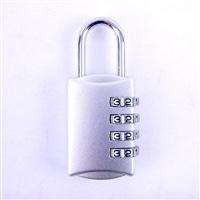 ダイヤル錠4段 YF20628 SIL