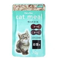 Pet'sOneキャットミールパウチ 幼猫用70g