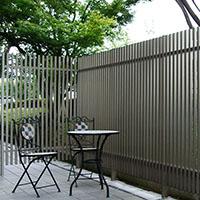 シェードフェンス2型 H15 連結 Pブロンズ【別送品】