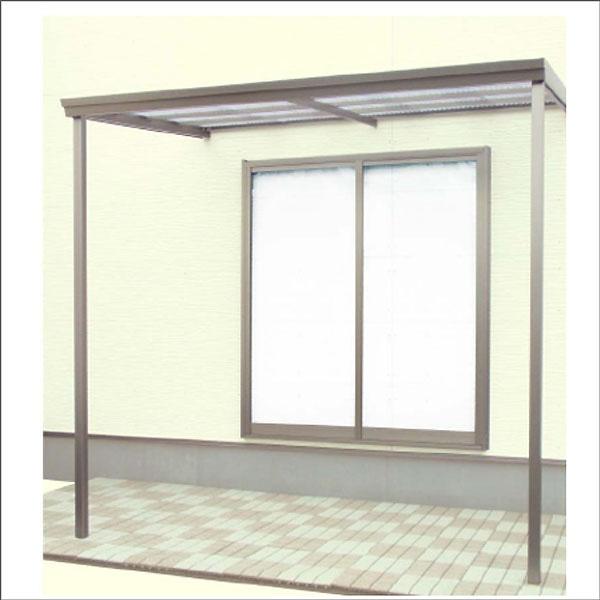 オリジナル テラス・塩ビ波板仕様 2.0間x4尺【別送品】