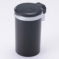 光る缶灰皿   TKH-0712BK