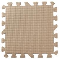 インテリアパズルマット 30cm×30cm 9枚組 モカ