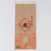 <ケース販売用単品JAN> ふるさと米 米袋 5kg(テープ)