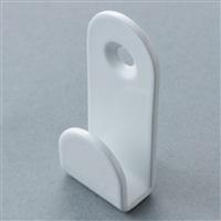 メッシュパネル用 壁掛け金具(2P) 白