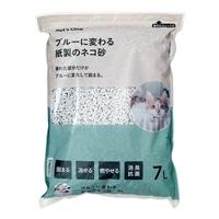 猫砂 Pet'sOne ブルーに変わる紙のネコ砂 7L (1Lあたり 約 56.8円)