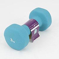 すべりにくい鉄アレイ3kg STA−3018BL