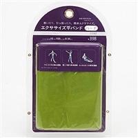 【数量限定】エクササイズ平バンド ハード 05515 グリーン