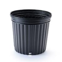 ナーセリーコンテナ 黒 21cm