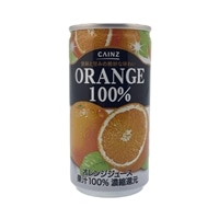 【ケース販売】オレンジ100% 190g×30缶(1缶あたり35円)