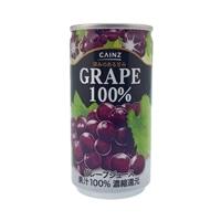 【ケース販売】ブドウ100% 190g×30缶(1缶あたり35円)