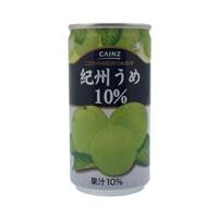 【ケース販売】紀州うめ10% 190g×30本
