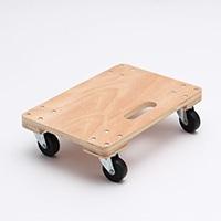 【数量限定】木製平台車 300×450×120mm