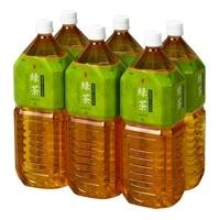 【ケース販売】緑茶 国産茶葉100% 2L×6本
