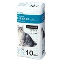 Pet's One システムトイレ用 取り替え消臭シート 10枚