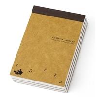 ディズニー メモ帳 ミッキー A7 3冊パック