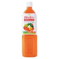 【ケース販売】野菜&果汁の100%ジュース 930g×12本