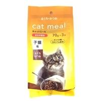 Pet'sOne キャットミールレトルトパック まぐろ・かつお 子猫用 70g 3袋パック