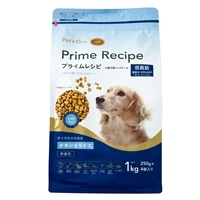 プライムレシピ 小型犬用 低脂肪 チキン&ライス 250g×4袋入り