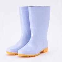 耐油 白 長靴 24.5cm