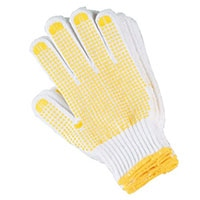 滑り止め付手袋 5双組 L