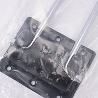 折りたたみ脚(クロムめっき) 8×431