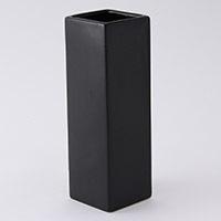 花瓶角型高さ25cm(黒)VS25-BK