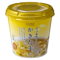 【数量限定・ケース販売】CAINZ カップ春雨スープ かきたま 6食入
