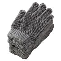 汚れが目立たない手袋 すべり止め付 12双組