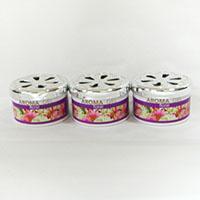 【数量限定】芳香消臭剤缶詰タイプ3Pフローラル