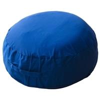 【数量限定】ビーズフロアクッション ブルー 55×20