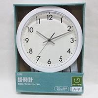 【数量限定】掛時計 A-09(WH)
