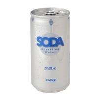 【ケース販売】炭酸水 185ml×30缶