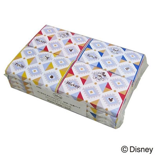【数量限定】ディズニー 水に流せるポケットティシューB 10組×16パック入