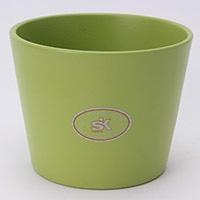 陶器鉢カバー ダラスGN Φ11cm