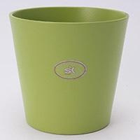 陶器鉢カバー ダラスGN Φ14cm