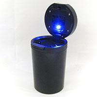 自然消火する光る灰皿 SHH-0711BK
