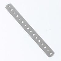 曲板チドリ(クロムめっき)200mm