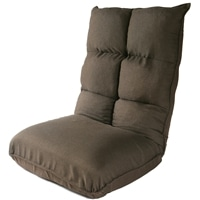 Vカット低反発コイル座椅子 VZ-5567BR