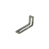 ミニ金具L型(ニッケルめっき)3×6cm