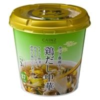 【ケース販売】CAINZ カップ春雨スープ 鶏だし中華 6個入