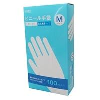 【数量限定】ビニール手袋 M 100枚 VGM100