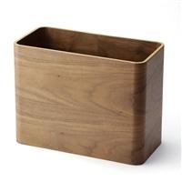 木製収納ケース ブラウン