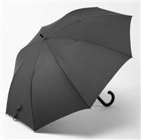 【数量限定】楽に戻せる風に強い 軽量ジャンプ傘 70cm ブラック