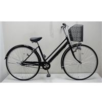【自転車】【全国配送】シティ車 27インチ ブラック【別送品】