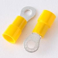 絶縁丸型圧着端子 (TME5.5-4S黄)5P